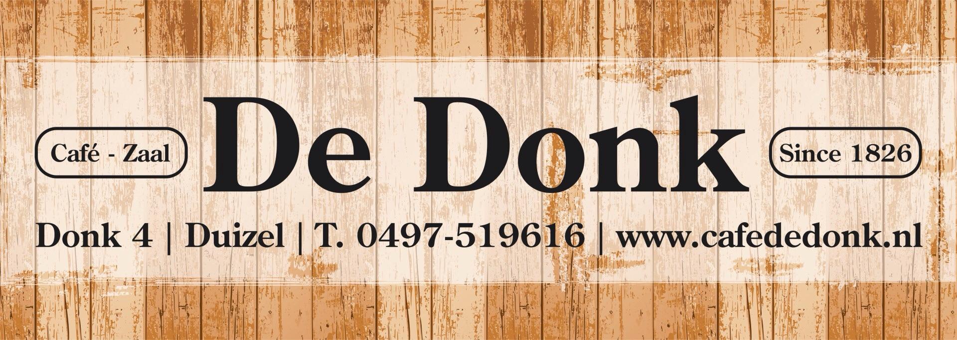 Café – zaal De Donk