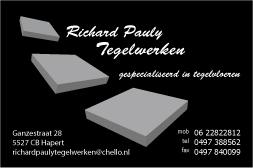 Richard Pauly Tegelwerken